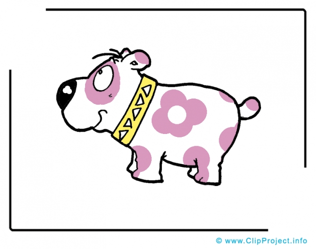 Cartoon Dog Clip Art Image free