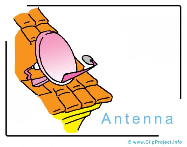 Antenna Clip Art Image free