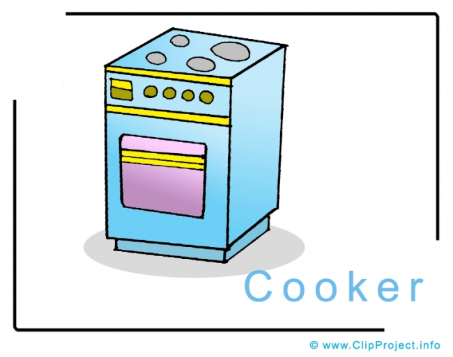 Cooker Clip Art free