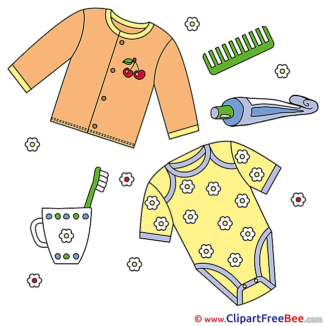 Clothing Baby download Illustration