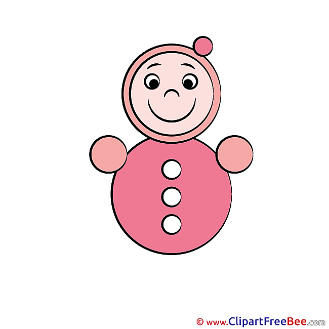 Doll Baby Clip Art for free