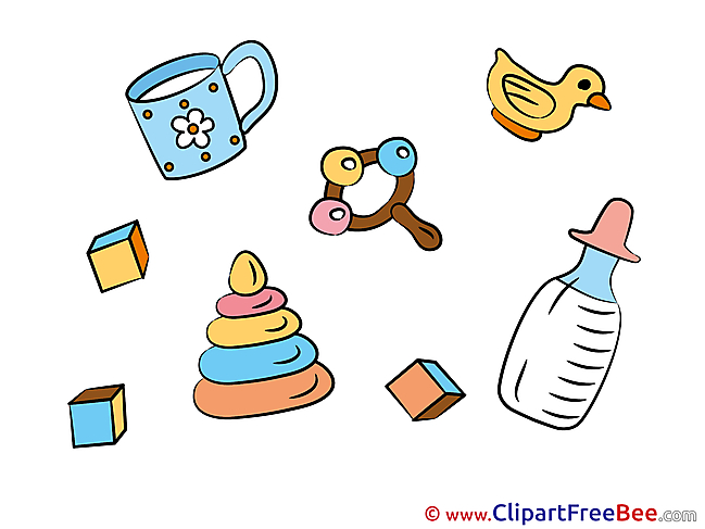 Objects Pyramide Baby Illustrations for free