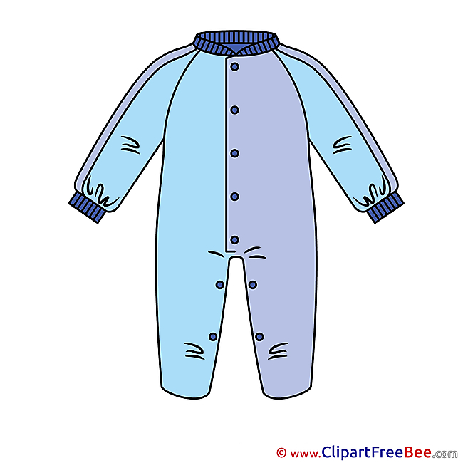 Pajamas Baby Clip Art for free