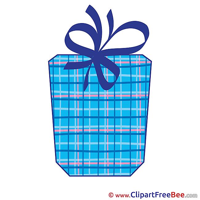 Free Illustration Present Birthday
