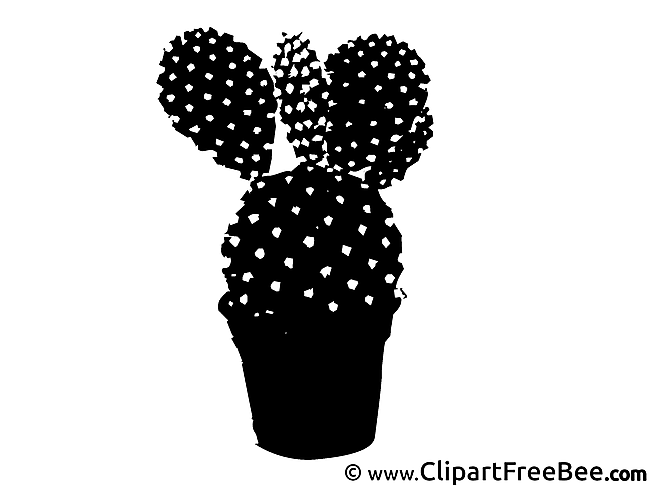 Cactus Clip Art download for free