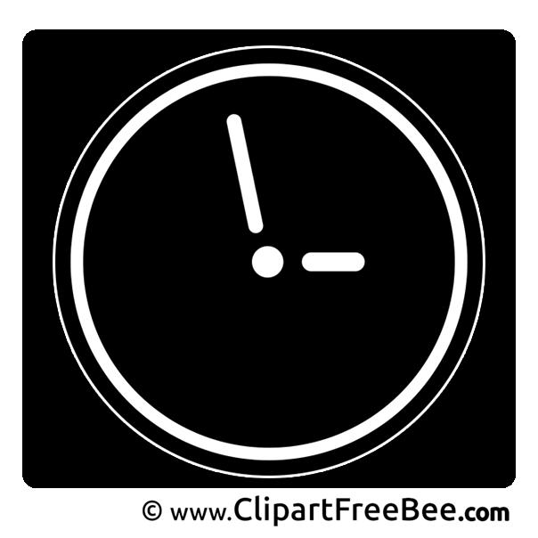 Clock download printable Illustrations