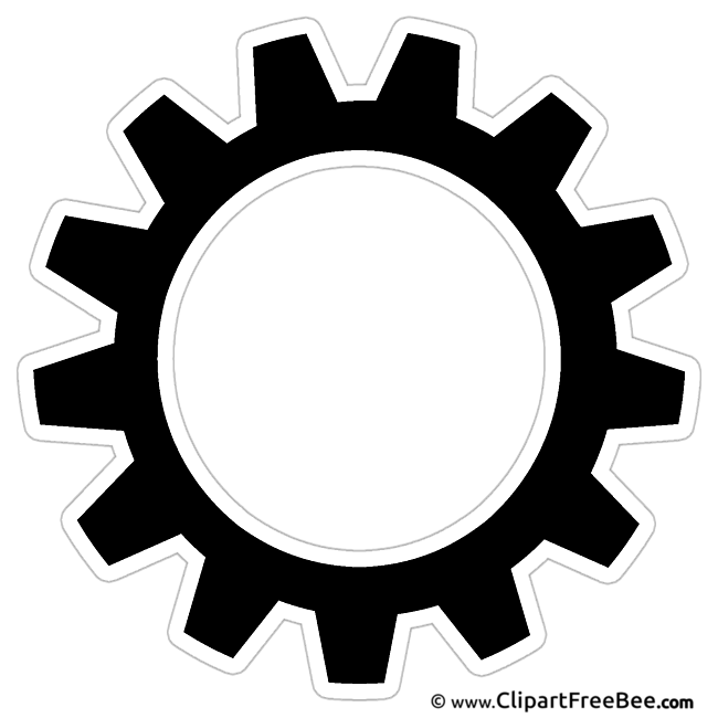 Cogwheel free printable Cliparts and Images