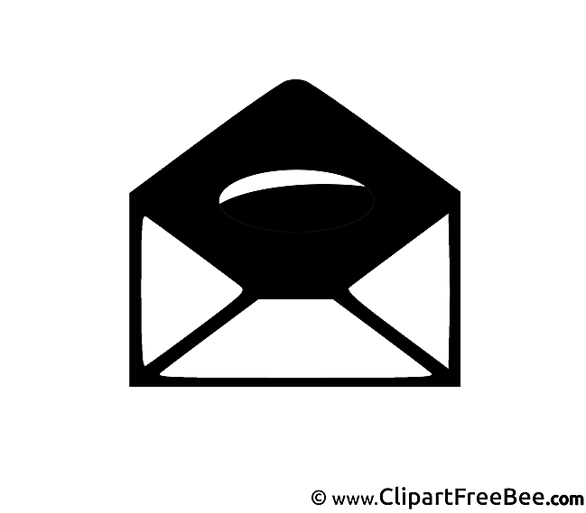 Envelope Cliparts printable for free