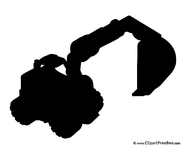 Excavator free Cliparts for download