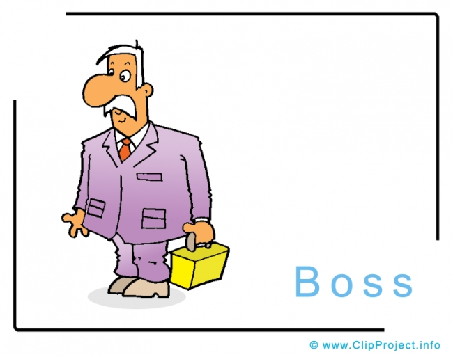 Boss Clipart Image - Business Clipart Images for free