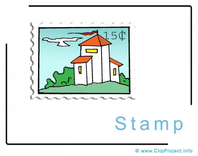 Stamp Clipart Image - Business Clipart Images for free