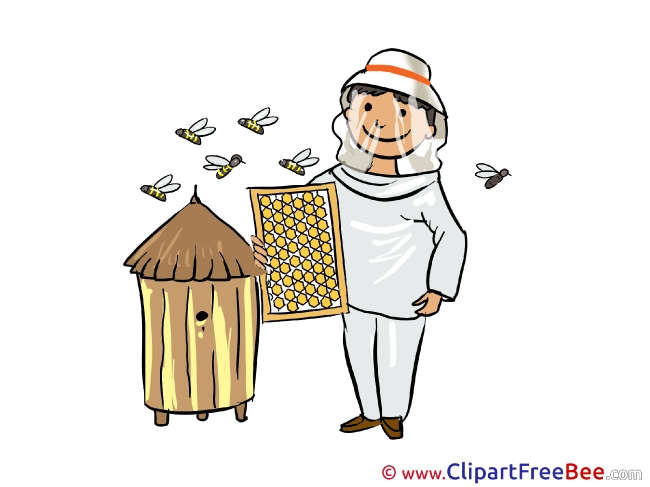 Beekeeper download Clip Art for free
