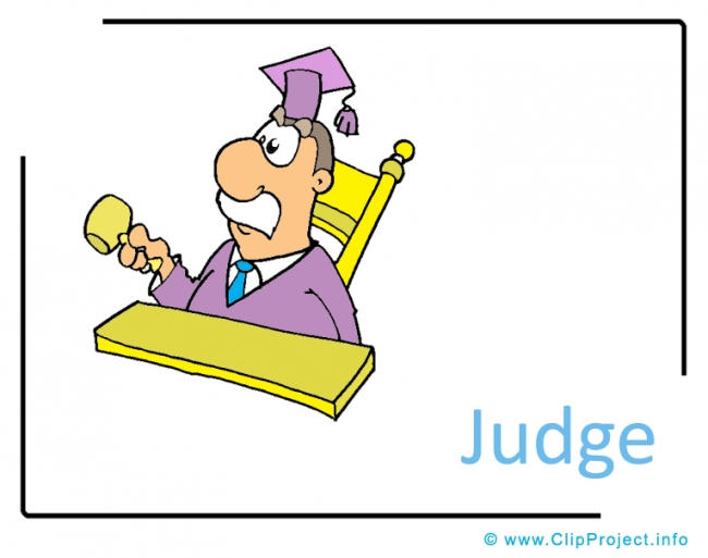 Judge Clipart Image - Career Clipart Images