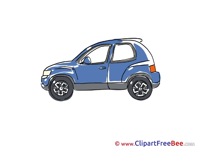 Blue Car Pics free download Image