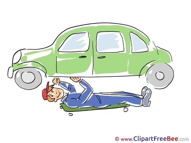 Car Repair free Cliparts for download