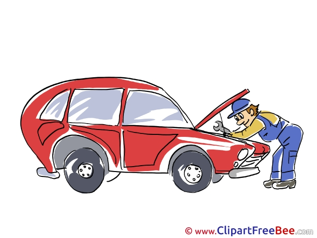 Engine Repairs Car Cliparts printable for free