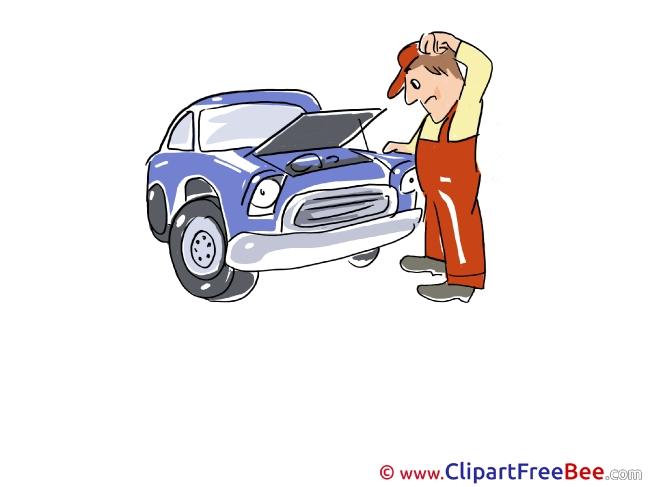 Engine Repairs Pics download Illustration