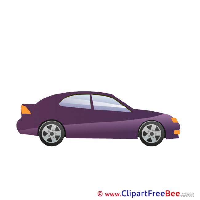 Four-door Sedan Clipart free Illustrations
