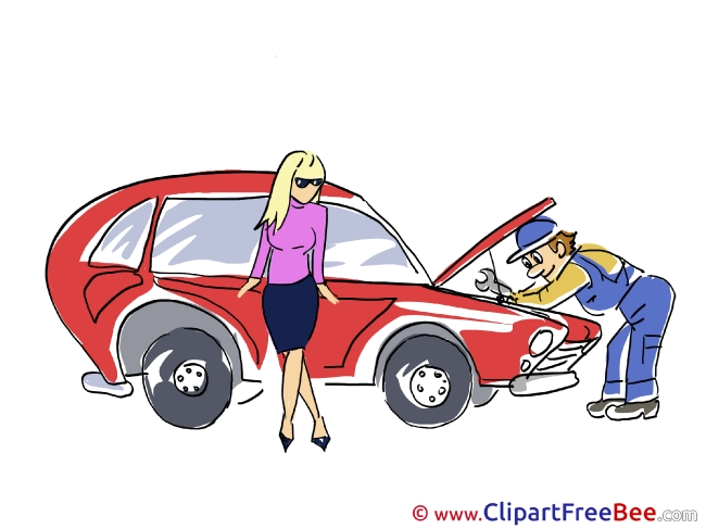 Man Mechanic Repair Clipart free Illustrations