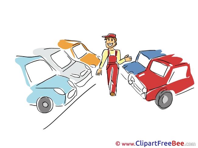 Parking download printable Illustrations