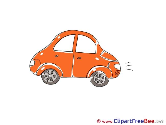 Red Car free Illustration download