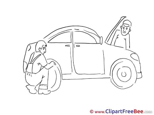 Wheel Repair Pics download Illustration