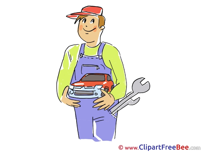 Wrench Man Mechanic printable Images for download