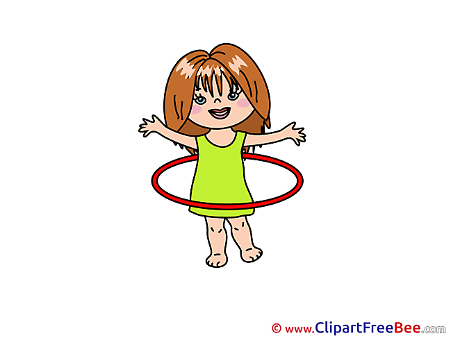 Hoop Girl printable Images for download
