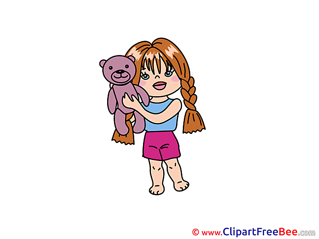 Toy Bear Clip Art download for free
