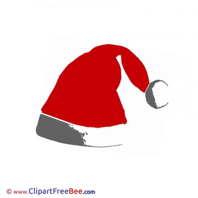 Hat Clipart Christmas Illustrations