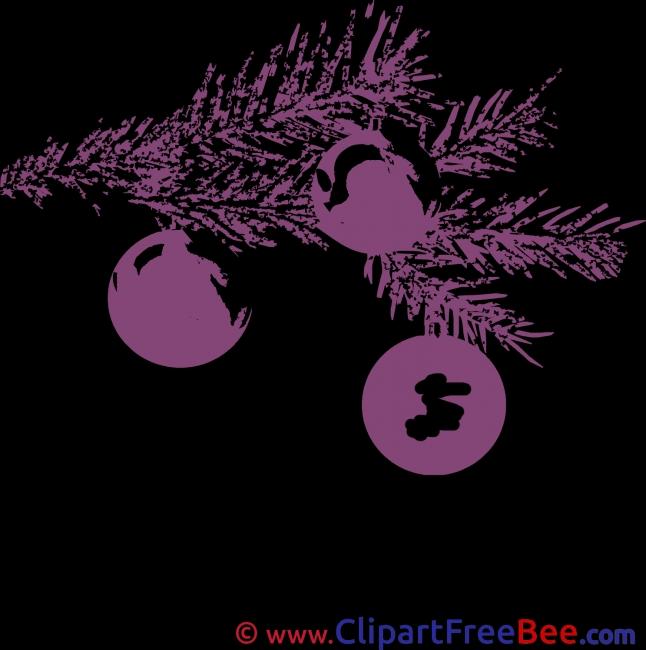 Purple Pics Christmas free Image