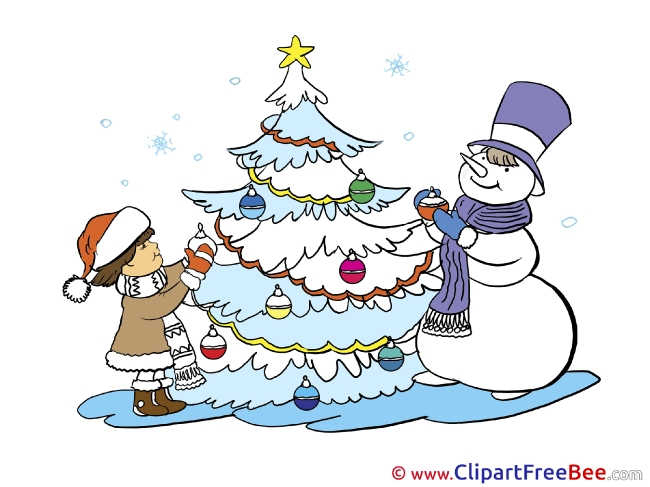 Virtual List Cliparts Christmas for free