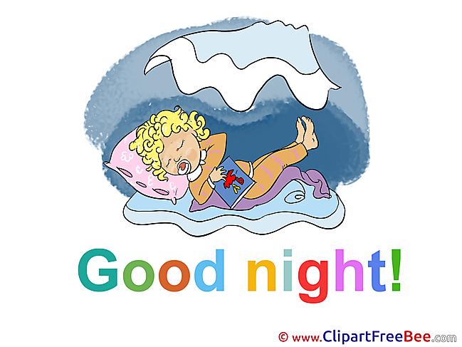 Baby free Illustration Good Night