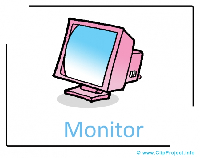 Computer Monitor Clipart Image free - Computer Clipart Images free
