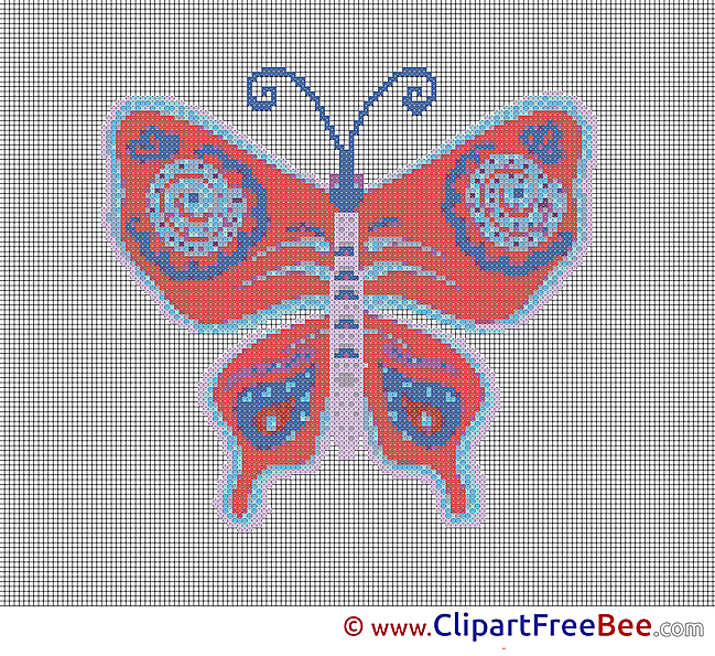 Butterfly Cross Stitch download free