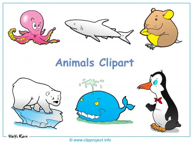 Animals Clipart Desktop Background - Free Desktop Backgrounds