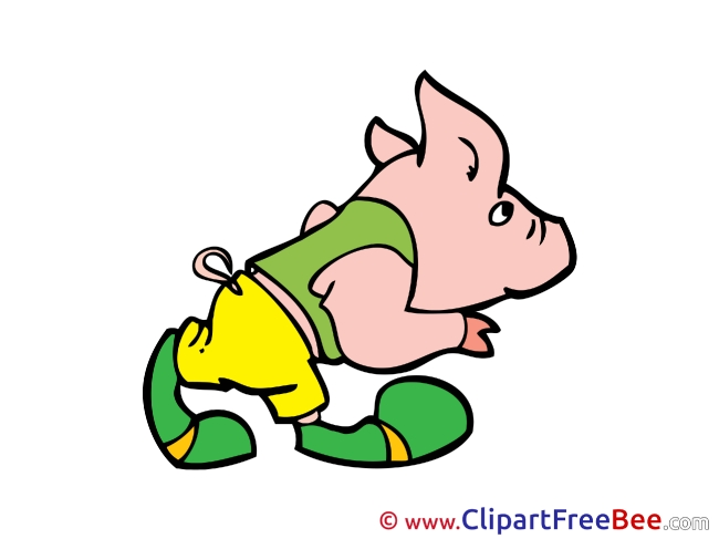 Piggy Clip Art download Fairy Tale
