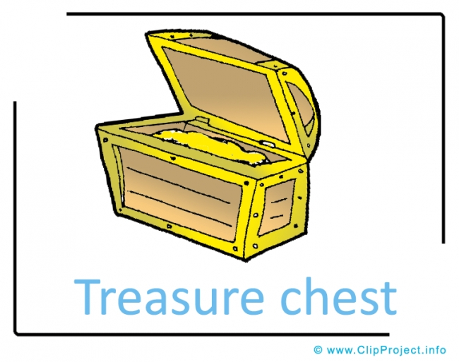 Treasure Chest Clipart Image free - Fairy Clipart Images free