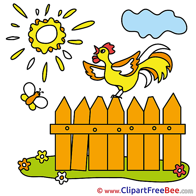 Cloud Cock Fence Pics free download Image