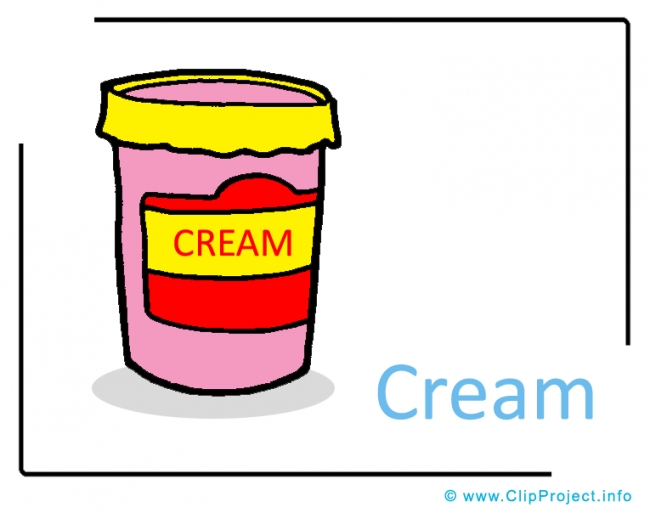 Cream Clipart Image free - Farm Cliparts free