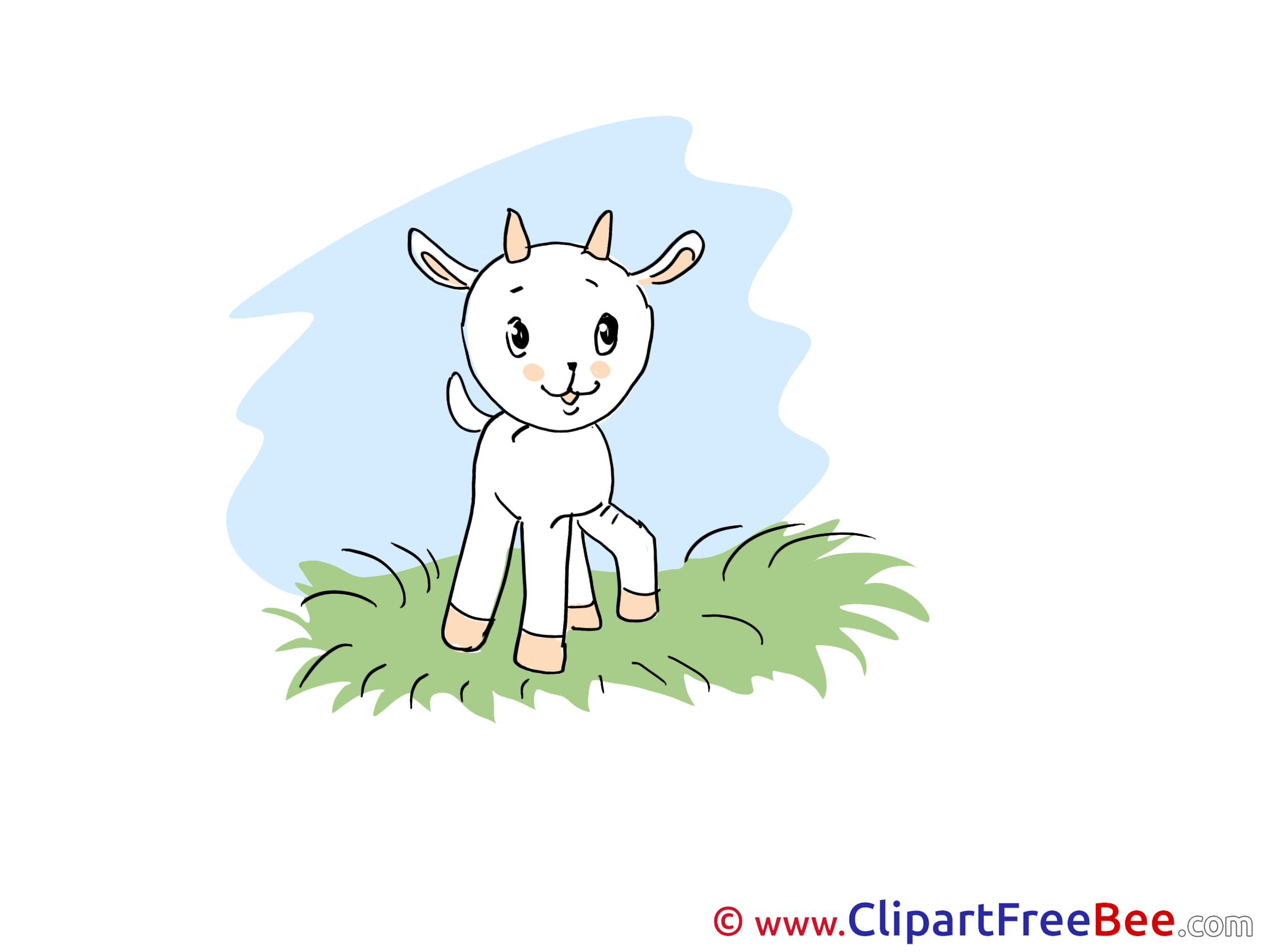 Grass Goatling download Clip Art for free