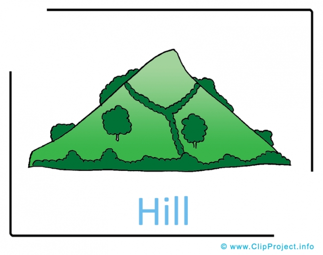 Hill Clipart Image free - Farm Cliparts free