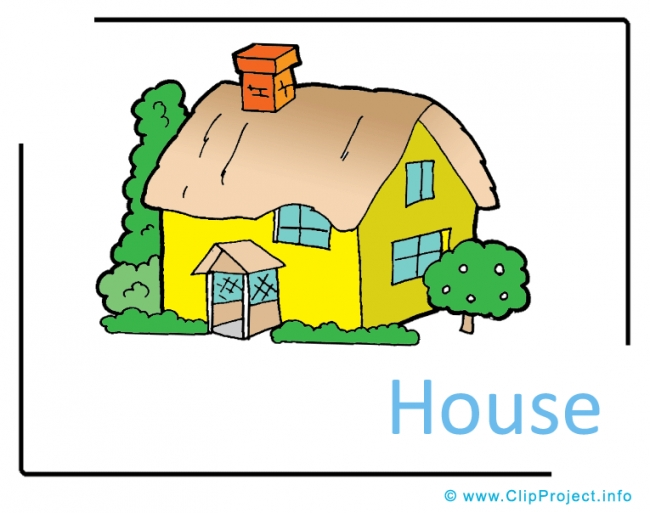 House Clipart Image free - Farm Cliparts free