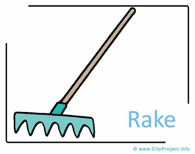 Rake Clipart Image free - Farm Cliparts free