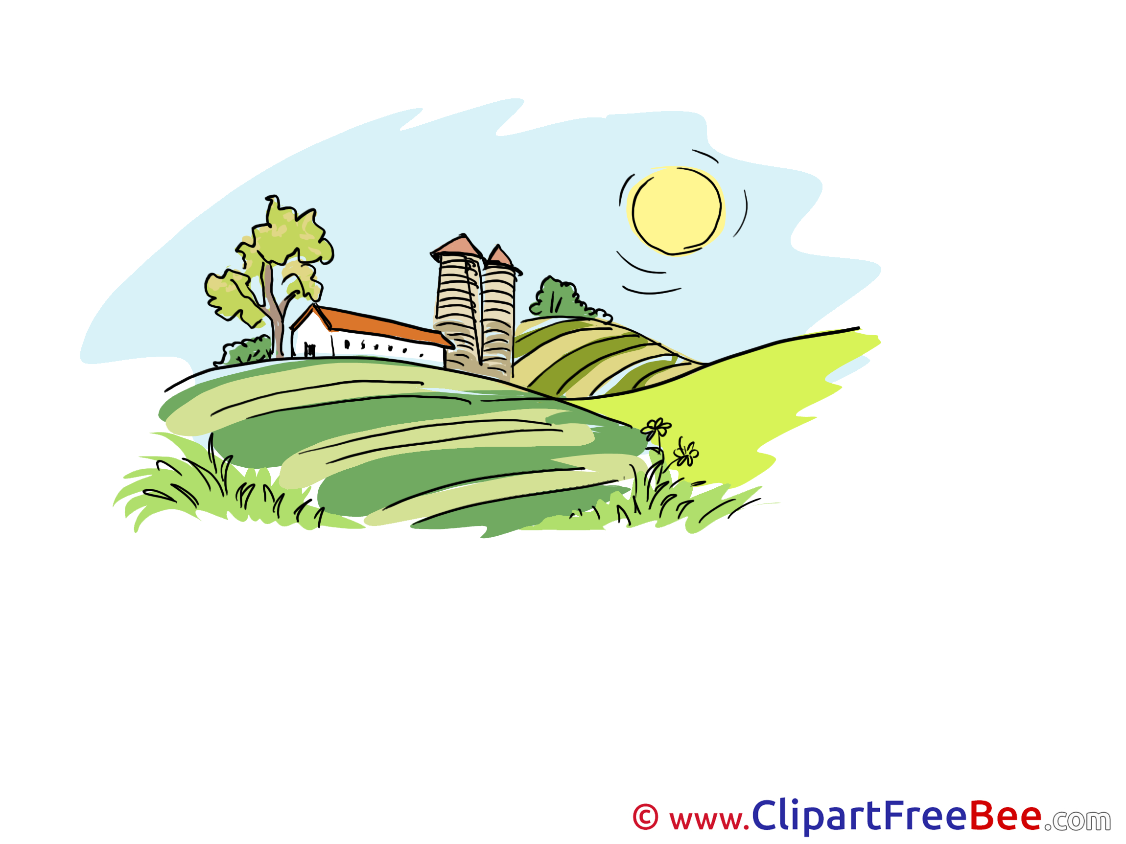 Summer Farm free printable Cliparts and Images