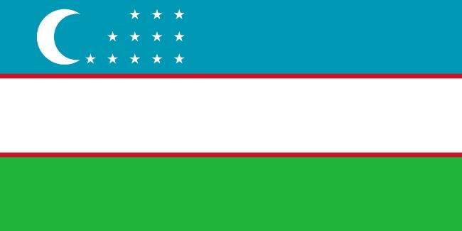 Flag of Uzbekistan image free