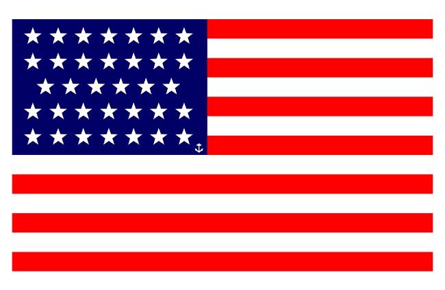 USA flag image free