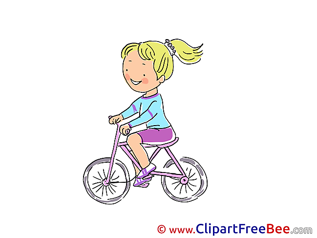 Bicycle Vacation Illustrations for free