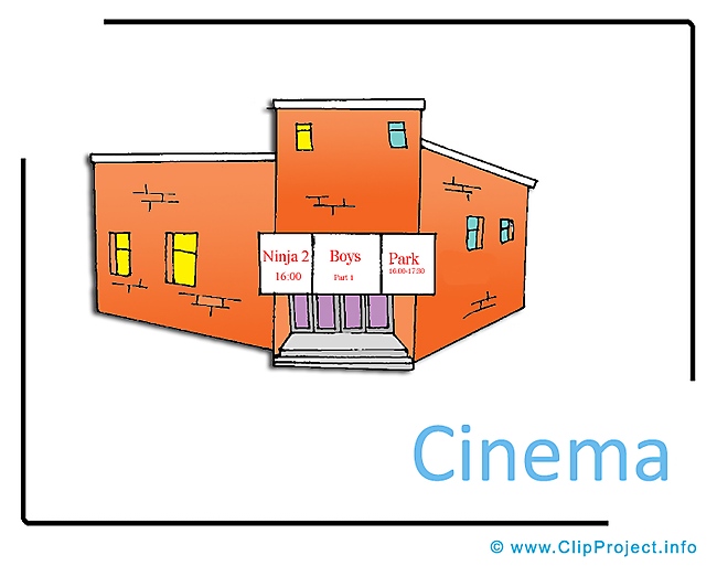 Cinema Clipart Image free - Free Time Clipart Images free