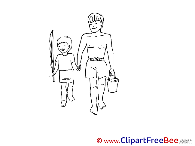 Fishing Clipart Vacation free Images